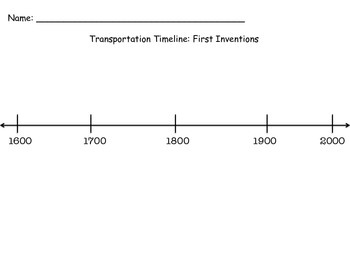 Transportation Timelines and More!