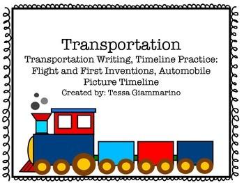 Transportation Timelines and More!