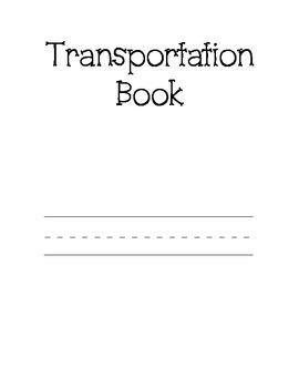 Transportation Tracing Book