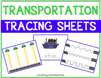 Transportation Tracing Sheets