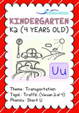 Transportation - Traffic (II): Short U - K2 (4 years old)