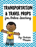 Transportation & Travel Props for Online Teaching (VIPKid)