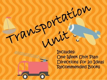 Transportation Unit Plan