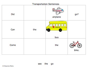 Transportation Themed Activities (Preschool, Prek, K)