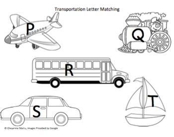 Transportation Themed Activities (Preschool, Prek, K)