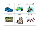 Transportation Unit Words