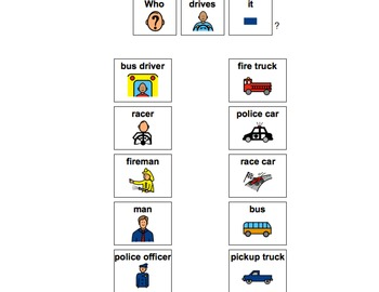 Transportation Unit-for Autistic Children and Children with Language Delays