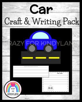 Transportation / Vehicle Craft and Writing: Car
