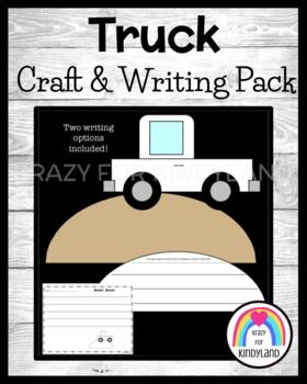 Transportation / Vehicle Craft and Writing: Truck