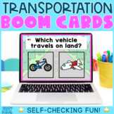 Transportation/Vehicles Boom Cards - Distance Learning