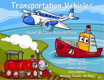 Transportation Vehicles Count and Color