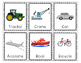Transportation Vehicles Cars and trucks Flashcards and Vocabulary Activities