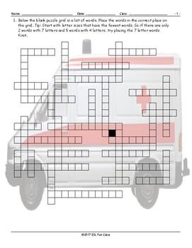 Transportation-Vehicles Framework Puzzle