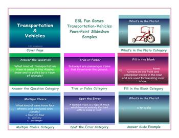 Transportation-Vehicles PowerPoint Slideshow
