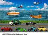 Transportation Vocabulary Story