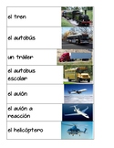 Transportation Vocabulary in Spanish