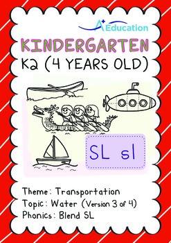 Transportation - Water (III): Blend SL - K2 (4 years old)