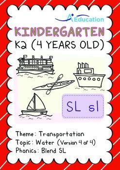 Transportation - Water (IV): Blend SL - K2 (4 years old)