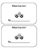 Transportation: What Can Go? ~ Mini Unit