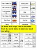 Transportation- Word Wall Strips, Flash Cards & Coloring Book