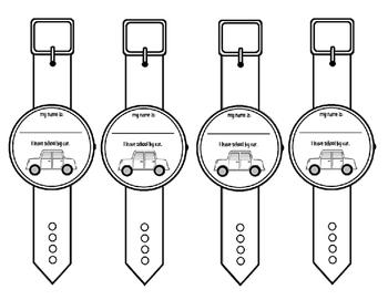 Transportation Wristband Watches