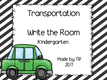 Transportation Write the Room