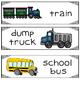 Transportation Writing Center Cards