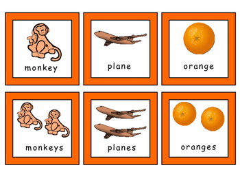 Transportation-Zoo-Fruits -Triple Match ESL Vocabulary Card Game