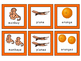 Transportation-Zoo-Fruits -Triple Match ESL Vocabulary Card Game