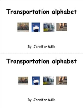 Transportation alphabet student book