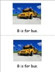 Transportation alphabet books