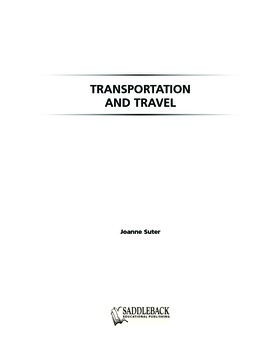 Transportation and Travel Student Worktext