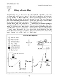 Transportation and Travel: Traveling by Bus-Using a Route Map