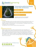 Transportation and the Environment: Energy, Fuels and Emissions