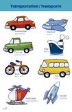 Bilingual theme poster - Transportation