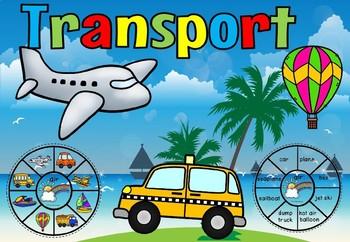 Transportation circle clip cards
