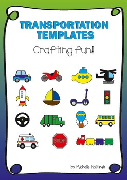 Transportation crafting templates