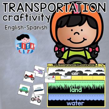 Transportation craftivity