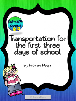 Transportation forms for partial and/or full week of school - programmable