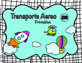 "Transportation on the air ""transporte aereo"""
