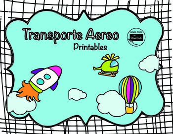"Transportation on the air ""transporte aereo"""