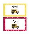 Transportation or Dismissal Signs