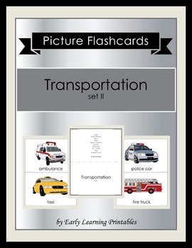 Transportation (set II) Picture Flashcards