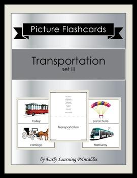 Transportation (set III) Picture Flashcards
