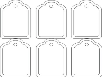 Transportation tags-editable