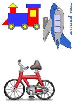 Transportation theme for ELL