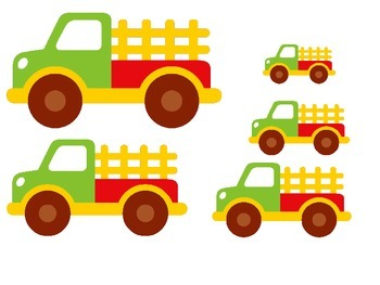 Transportation themed Size Sequence preschool activities.  Daycare curriculu