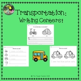 Transportation writing centers - Things that Go