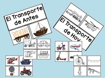 Transporte: De Antes y de Hoy: Un Unidad de Ciencias Sociales