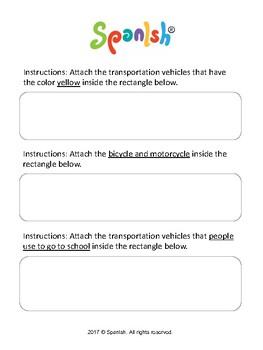 Categorization - Transportation-theme (English Version)